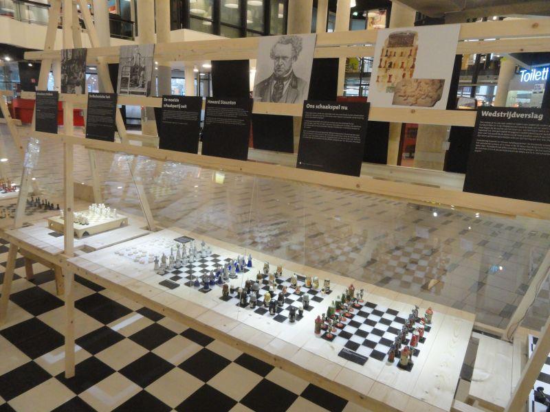 Tentoonstelling Schaakspelen In Centrale Bibliotheek Rotterdam